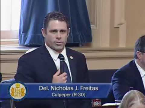 US Senate Candidate Nick Freitas Dismantles the Left in Defense of the Second Amendment