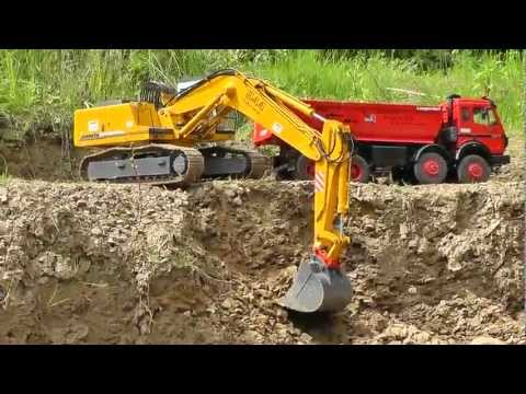 CONSTRUCTION SITE l BIG MINE l RC MACHITES AT WORK l TIPPERS AND DUMPERS l