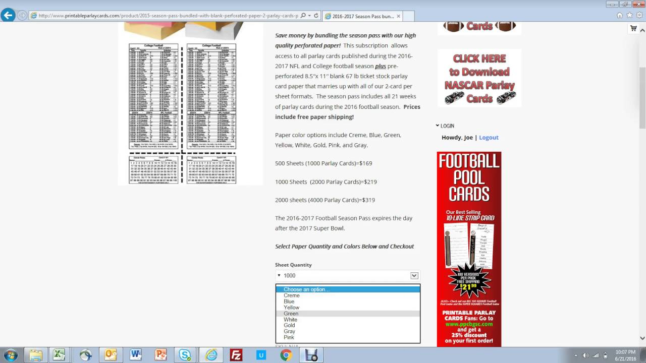 graphic regarding Free Printable Parlay Cards named In excess of/QA Printable Parlay Playing cards