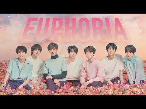 [1 시간 / 1 HOUR LOOP] BTS - Euphoria KOR ENG ROM Lyrics