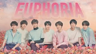 [1 시간 / 1 HOUR LOOP] BTS - Euphoria KOR ENG ROM lyrics