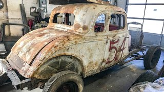 1934 Ford DIRT TRACK Car Resurfaces After 50+ Years - Hot Rod Hoarders Ep. 12