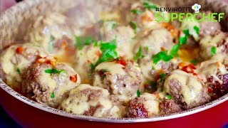 Video How to make Egg stuffed cheesy meatballs | Chef Ali Mandhry download MP3, 3GP, MP4, WEBM, AVI, FLV November 2017