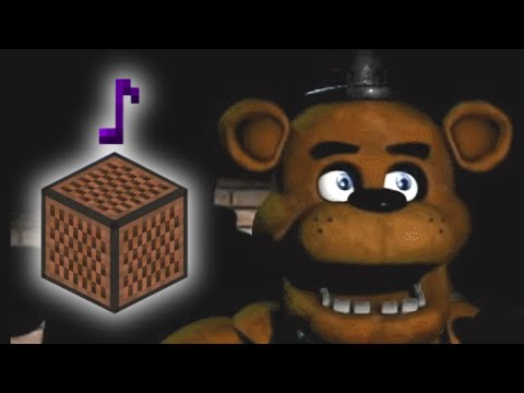 Five nights at freddy s song minecraft note block remake original