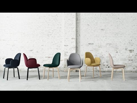 Xtra Sammen Chair By Jaime Hayon For Fritz Hansen Youtube