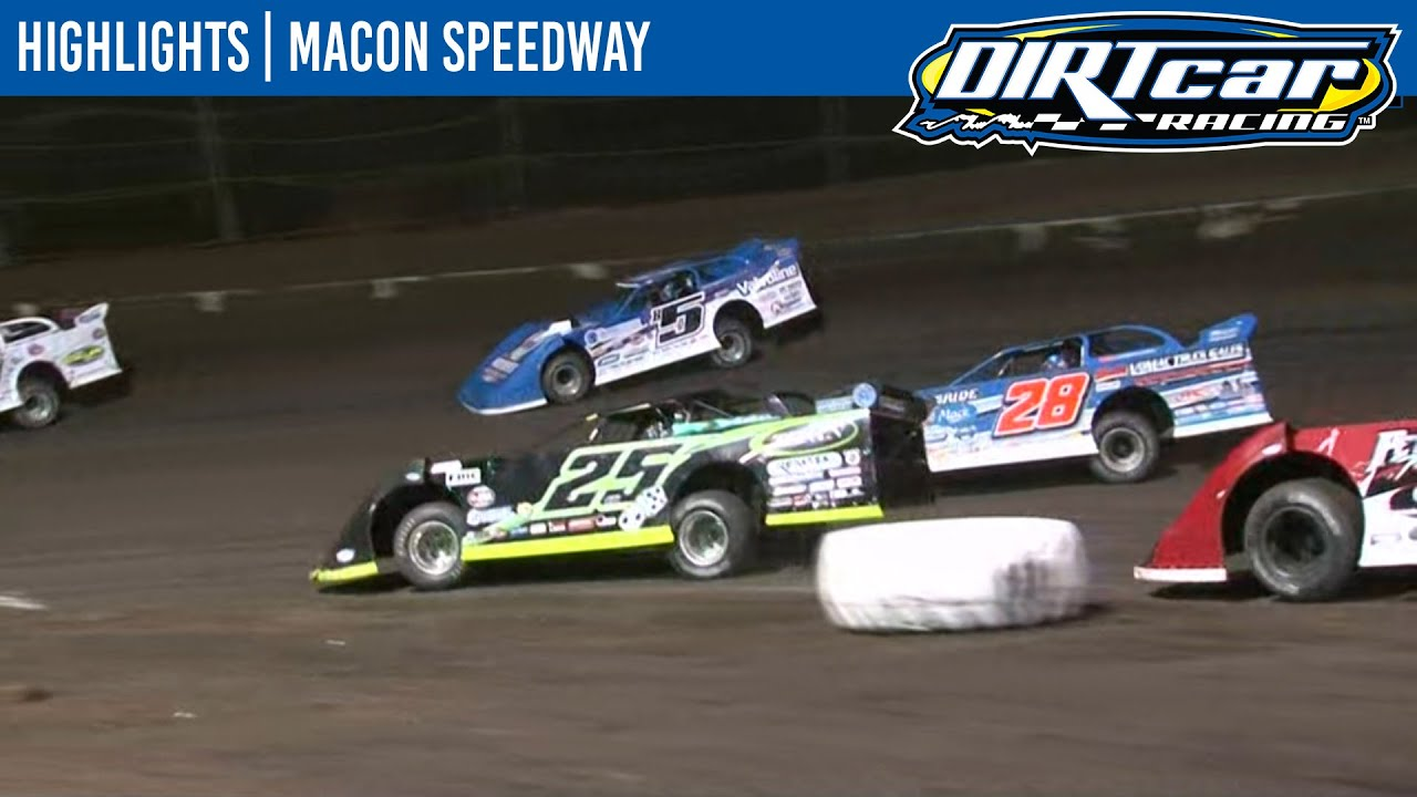DIRTcar Summer Nationals Late Models Macon Speedway August 13, 2020 | HIGHLIGHTS