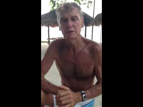 Dr Robert Lockhart in the Philippines