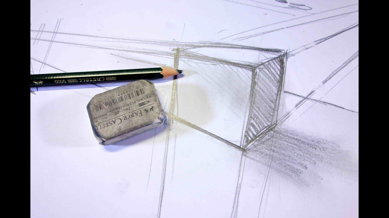ganz einfach zeichnen lernen 12 perspektive f r anf nger youtube. Black Bedroom Furniture Sets. Home Design Ideas
