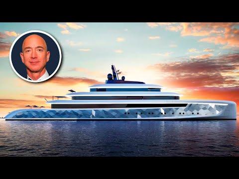 Inside Jeff Bezos' New $500 Million Mega Yacht