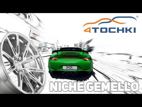 Porsche 911 Targa 4S на дисках Niche Gemello