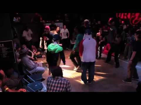 The Abyss: A House Dance Experience @ Soul Society 2012 (The Great Eight Cypher)