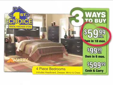1st Choice Rent To Own Furniture TV Commercial(1061B)