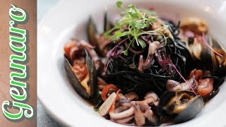 Perfect Squid Ink Pasta With Gennaro