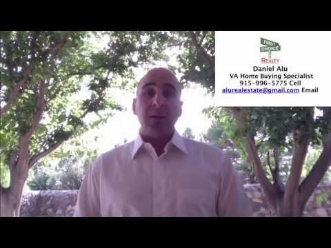VA Home Buying Buying Process Fort Bliss El Paso Texas