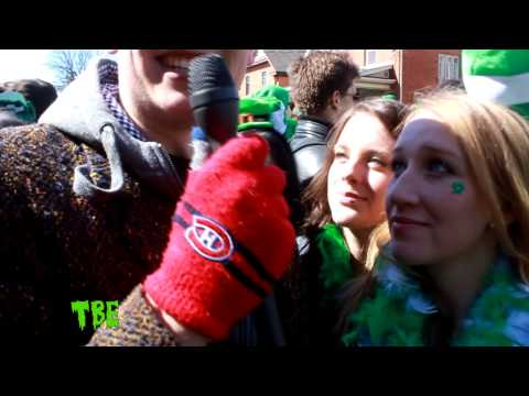 St. Patrick's Day Interviews at Wilfrid Laurier University