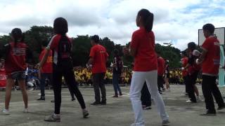 Batch 2012 Seniors Team Cheers and Yells