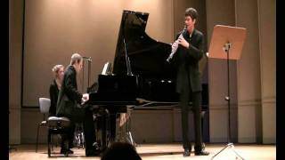 Brahms Sonate op.120/1 - II.Andante un poco Adagio - Duo Jeanquirit
