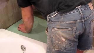 экран для ванны(изготовление экрана для ванны из гипсокартона., 2014-04-19T15:23:51.000Z)