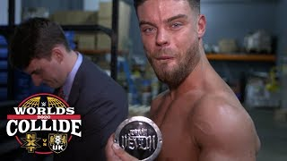 Jordan Devlin receives his NXT Cruiserweight Title sideplates: WWE Exclusive, Jan. 25, 2020