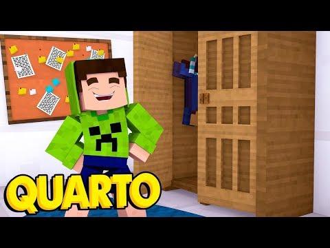 MEU QUARTO NOVO TA TOP - Minecraft Lendário ♥