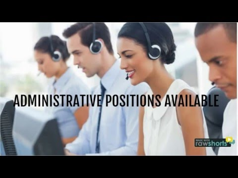 ARMA IS HIRING ADMINISTRATIVE PERSONNEL