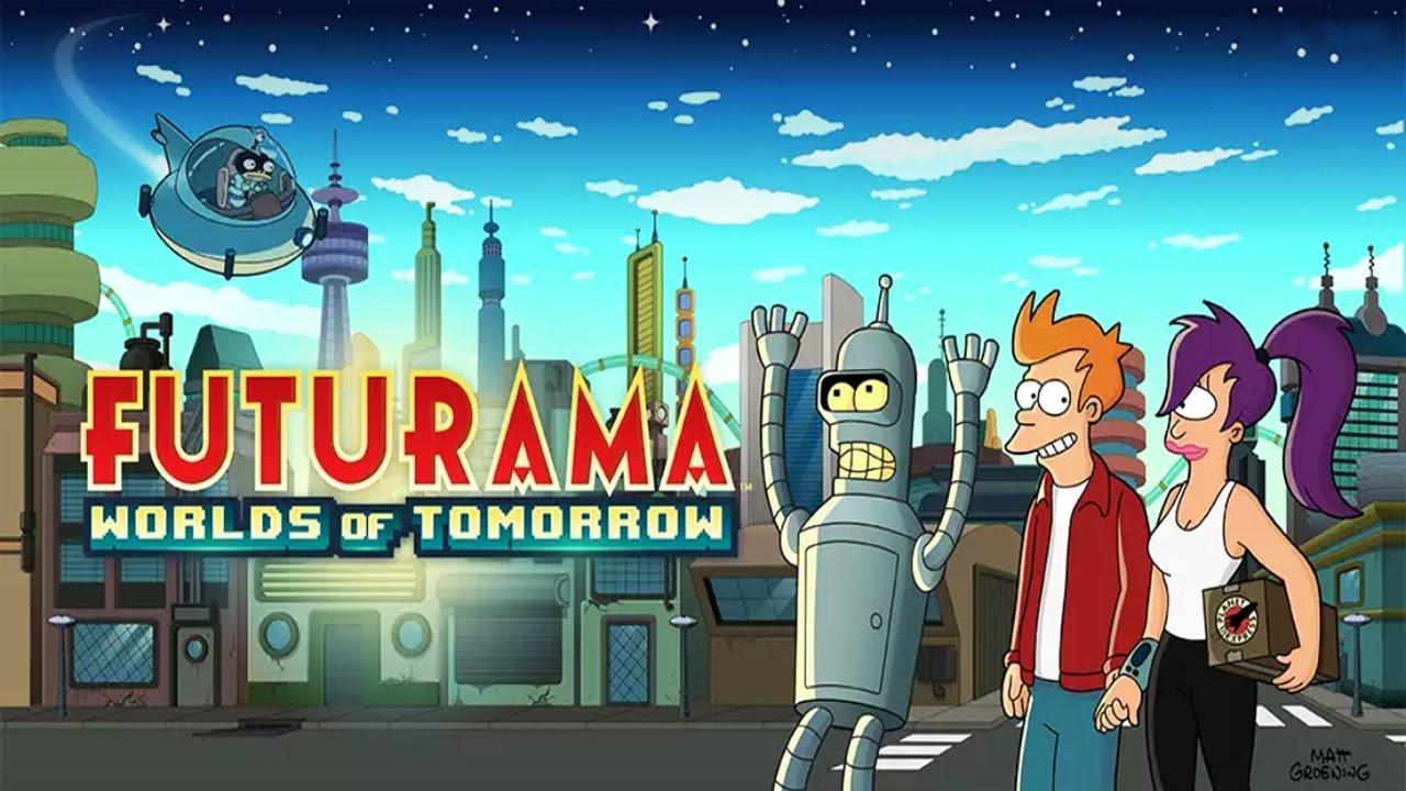 Futurama Worlds of Tomorrow Android Gameplay u1d34u1d30