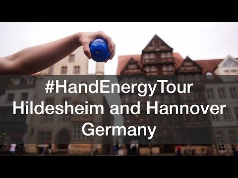 Hildesheim and Hannover, Germany #HandEnergyTour