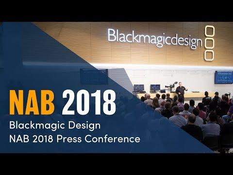 NAB 2018 Live Press Conference
