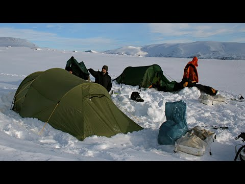 Sarek Nationalpark im Winter - outdoor-life -