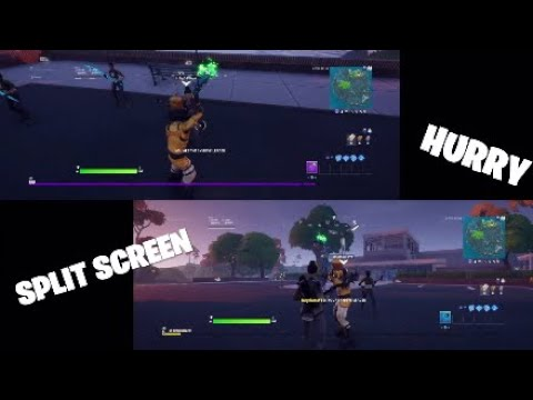 how-to-split-screen-in-fortnite!-fortnite-split-screen-tutorial-(ps4/xbox/switch/pc/mobile