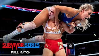 FULL MATCH - Ronda Rousey vs. Charlotte Flair: Survivor Series 2018