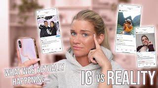 IG vs. REALITY   Samantha Ravndahl