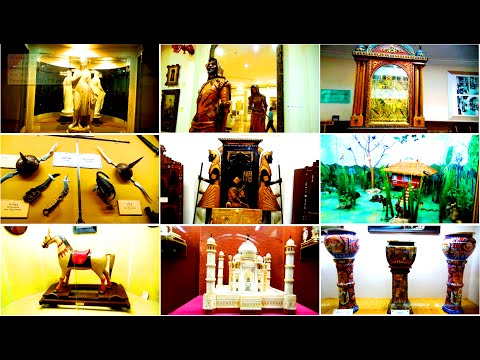 Salar Jung Museum - Hyderabad - | Complete HD Video