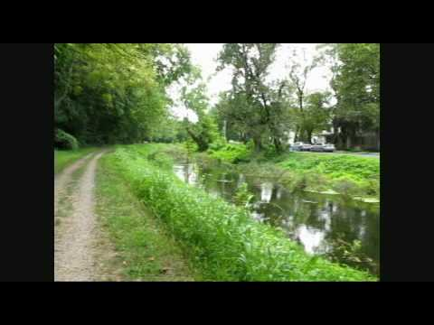Delaware Canal Towpath Easton to Nockamixon Cliffs PA Part 2 of 2