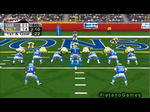 NFL 2012 Week 11 - Green Bay Packers (6-3) vs Detroit Lions (4-5) - 2nd Half - NFL 2K5 - HD