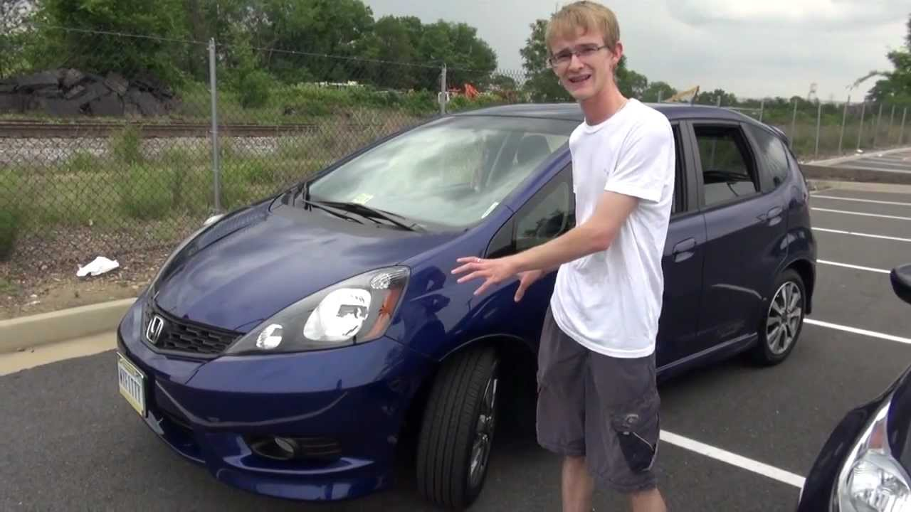 2012 Honda Fit Sport Vs 2012 Ford Fiesta SE   Comparison Test Review    YouTube
