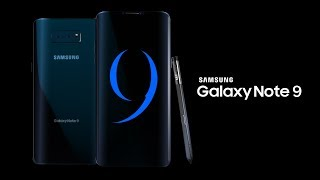 Samsung Galaxy Note 9 Concept 2018