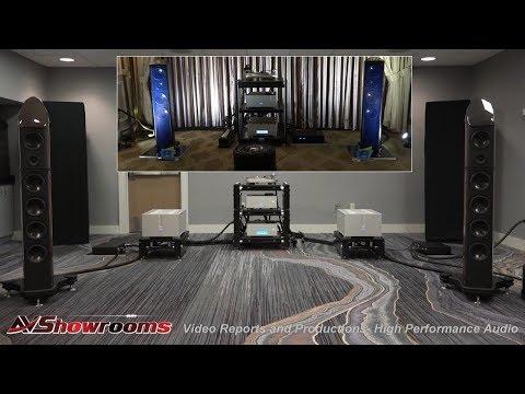 Aaudio Imports, Wilson Benesch speakers, Ypsilon Amplifiers, Thales, Stage III, RMAF 2017