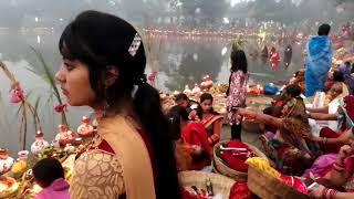 Chahuta Chath Puja Madhubani Bihar