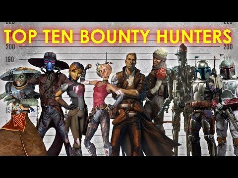 Top Ten Bounty Hunters | Star Wars