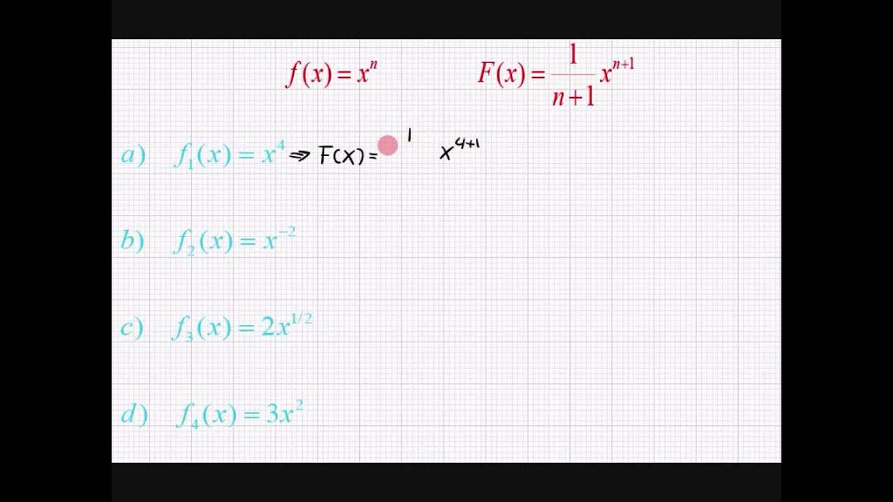 Differentialregning - Differentiation af simpe funktioner !