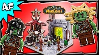 Custom Lego WARCRAFT Orcs Portal & Tower MOC Stop Motion Build Review