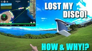 I lost my PARROT DISCO Drone in Hawaii! 😰 - Here