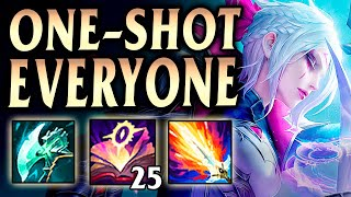 NEW DIANA BUILD DOES TOO MUCH DAMAGE! 50+ KILLS in 2 Matches - League of Legends Season 11