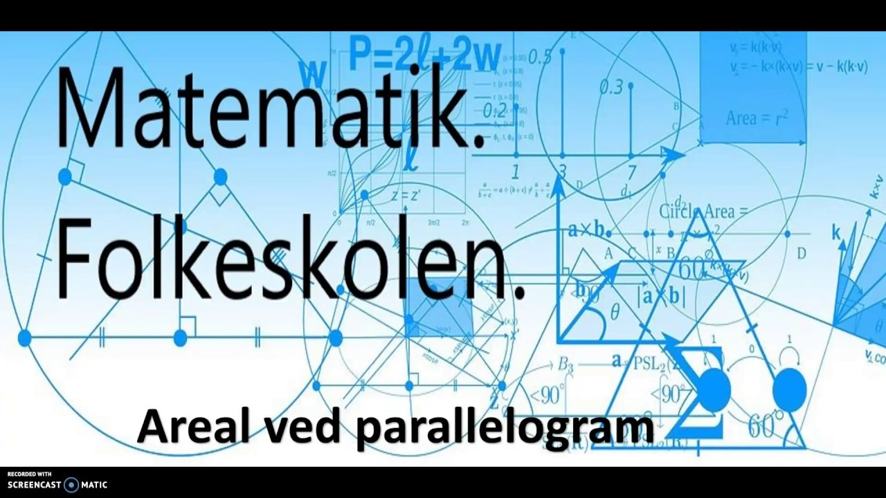 Areal ved parallelogram