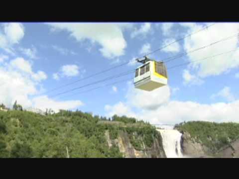 Montmorency Falls, Montréal, Québec, Canada