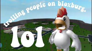 trolling people in bloxburg lol | rubirie
