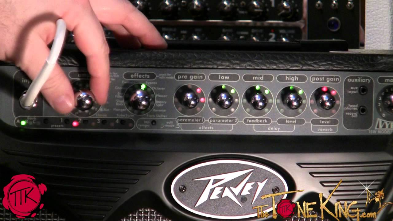 Peavey Vypyr Clean Amp Models Youtube