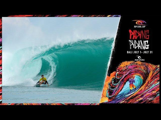 Jack Robinson Wins 2018 Rip Curl Cup Padang Padang in Bali