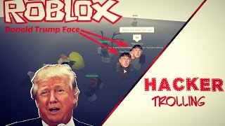 Hacker Trolling on Roblox (Donald Trump) - Giving Free Money